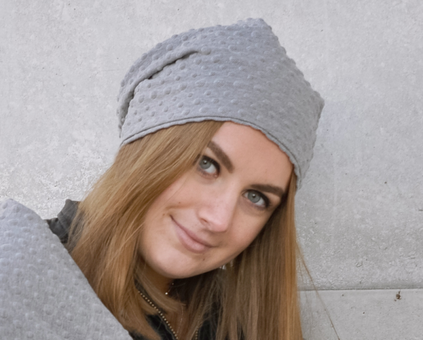 BUBBLES LIGHT GREY | Beanie Mütze