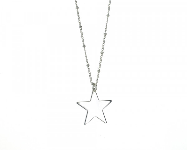 STAR BIG | Gravurkette