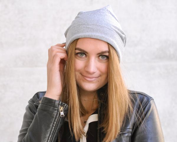 SHINY SILVER | Beanie Mütze