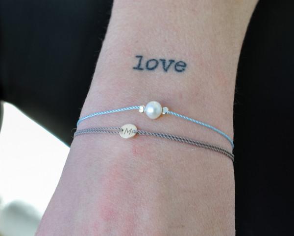 LETTER | Armband